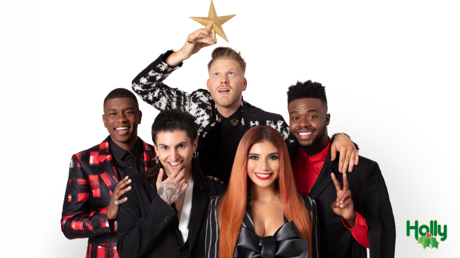 Pentatonix Takes Over Siriusxm S Holly Holiday Channel In Celebration Of The Season Hear Amp Now