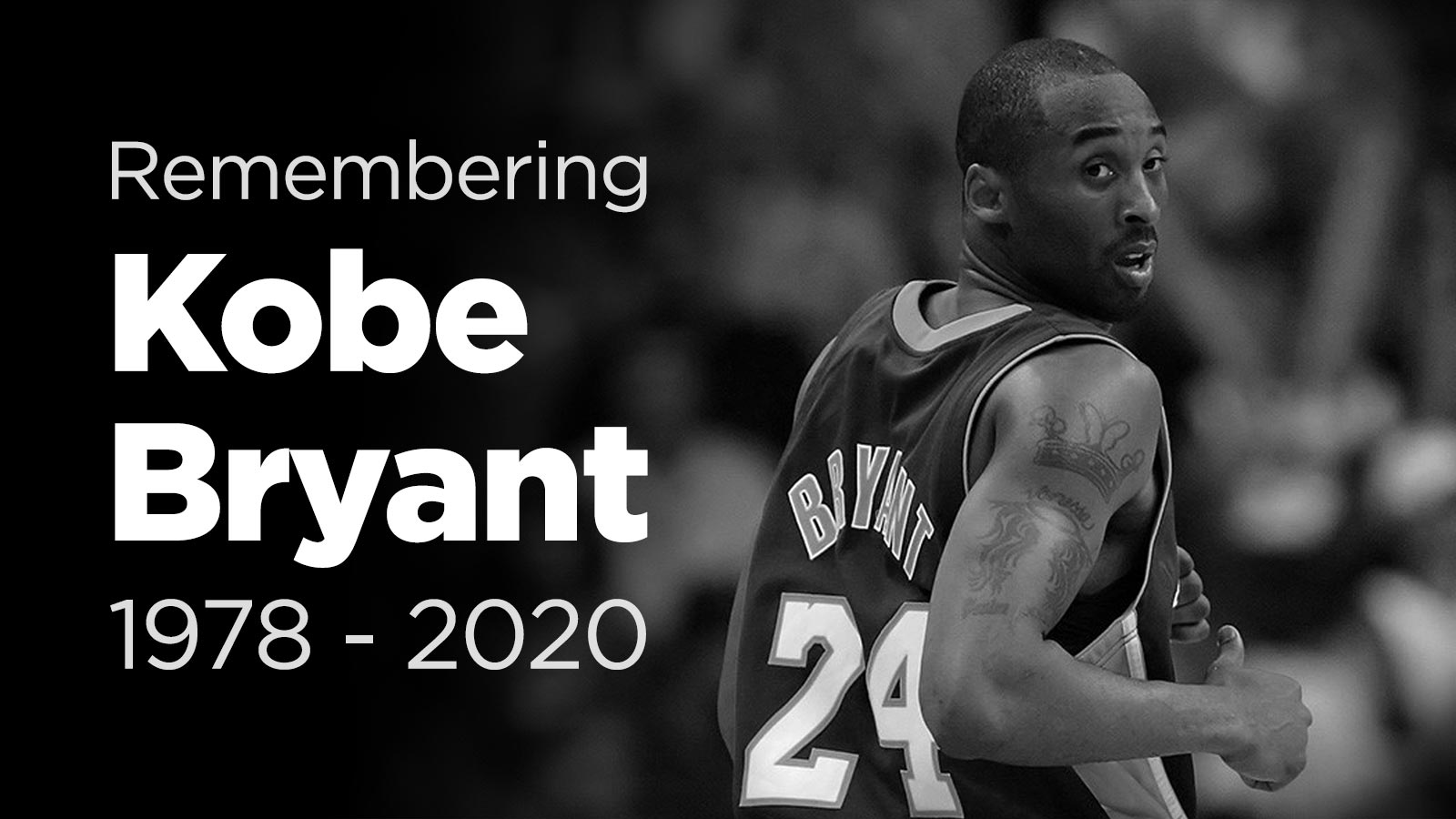 Bryant Kobe helicopter crash; after dead SiriusXM honors
