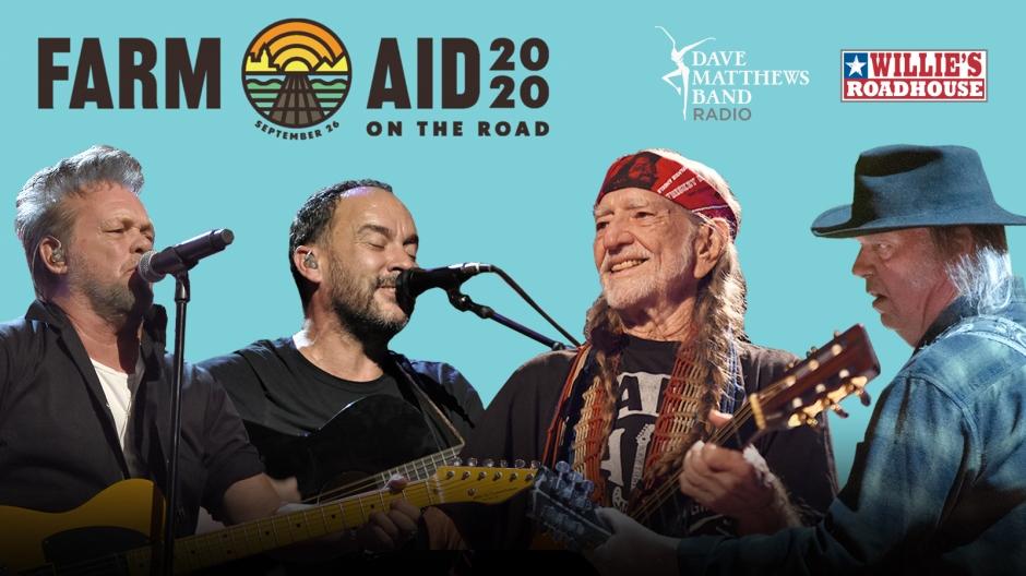Hear Farm Aid 2020 with Willie Nelson, Norah Jones, Dave Matthews, John  Mellencamp, Neil Young, and more | Hear & NowHear & Now