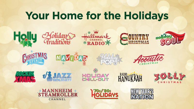 Dish Network Christmas Music 2020 Enjoy 17 SiriusXM holiday music channels featuring Christmas
