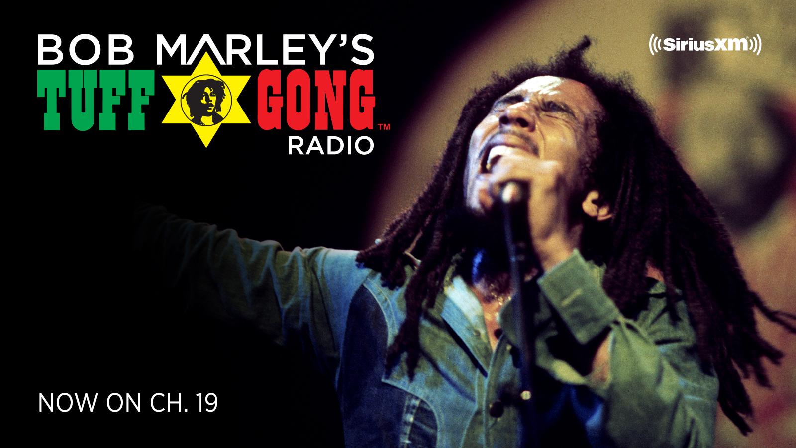 bob marley tuff gong radio siriusxm