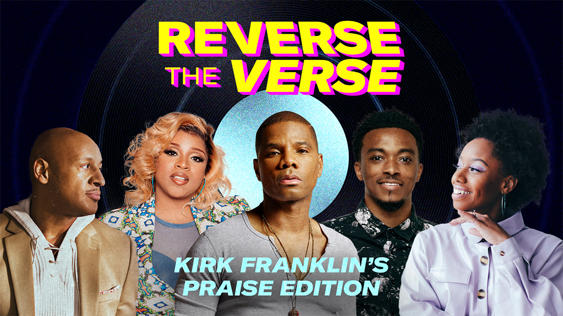 Watch gospel stars try to guess their songs played backwards during 'Reverse The Verse'