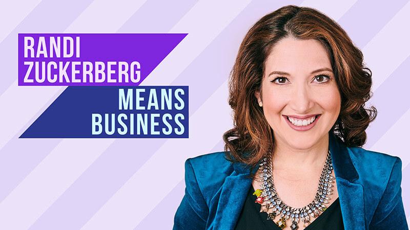 Randi Zuckerberg Means Business on SiriusXM