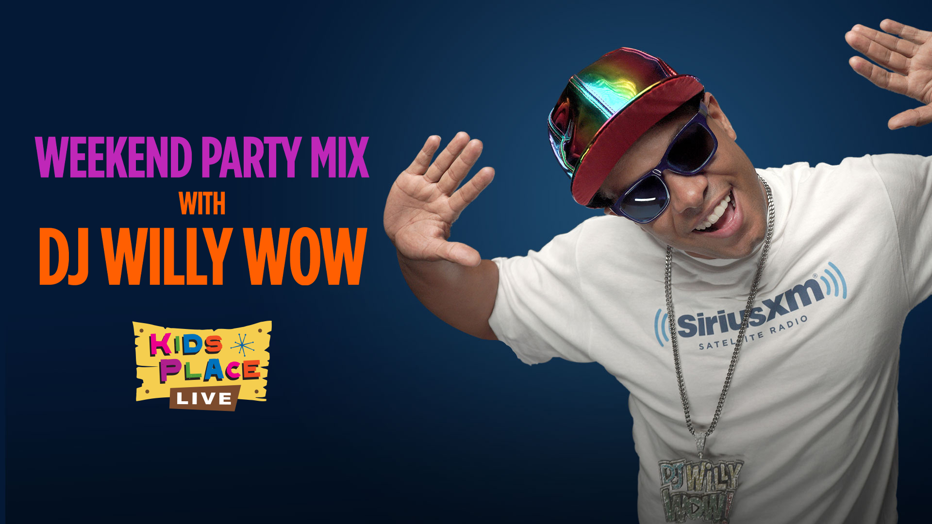 Kick off your weekend with a new dance party series on SiriusXM's Kids Place Live