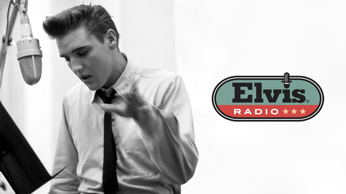 Look back at Elvis Presley's recording sessions in a new show on Elvis Radio