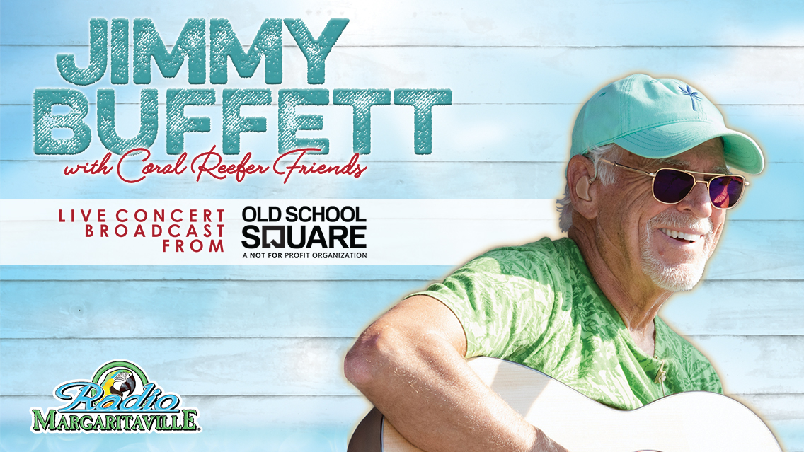 Escape into two live Jimmy Buffett concerts with special guests, acoustic songs & more