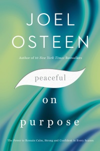 Joel Osteen Peaceful on Purpose book cover