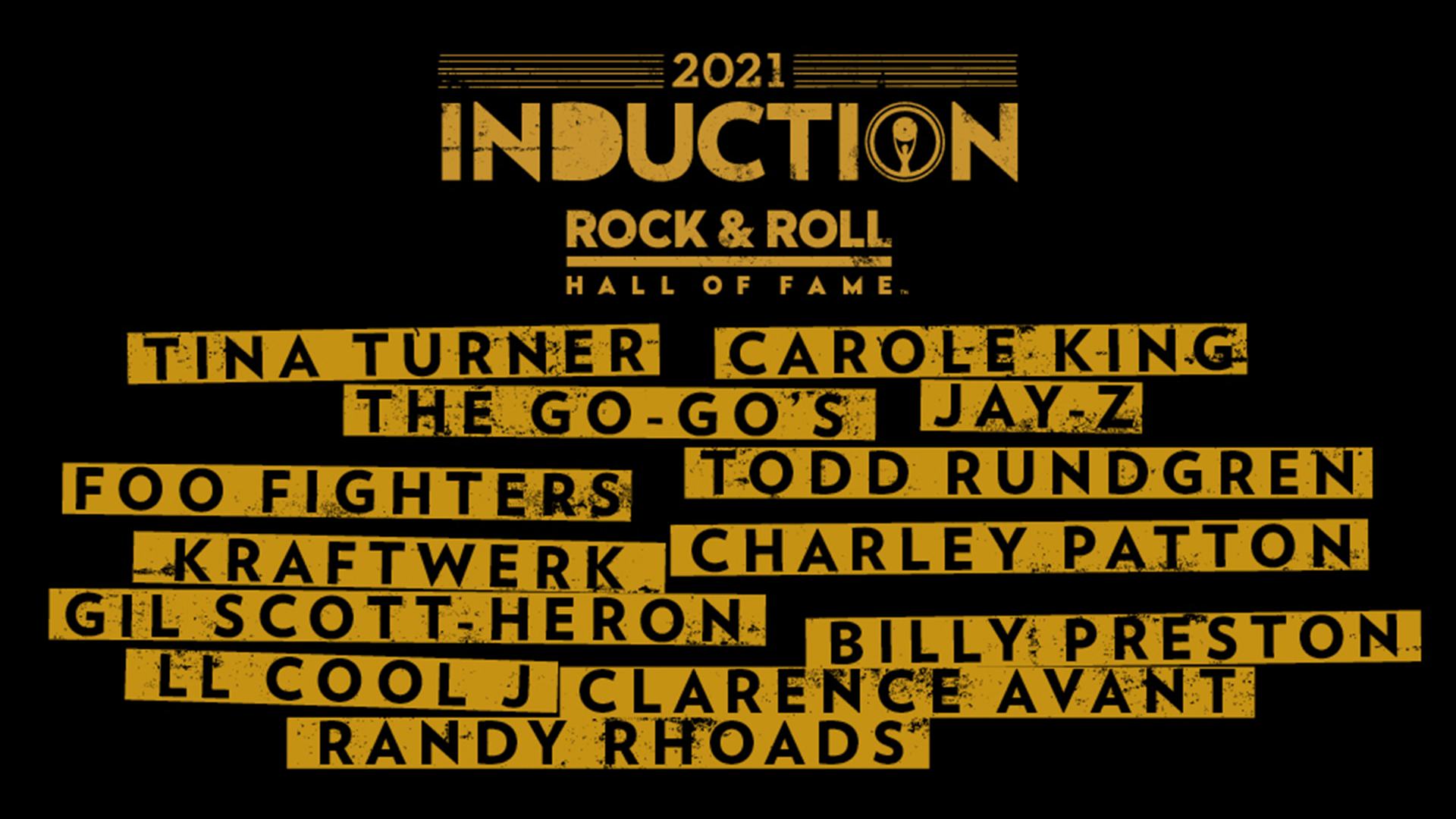 Rock & Roll Hall of Fame announces this year's inductees on SiriusXM VOLUME