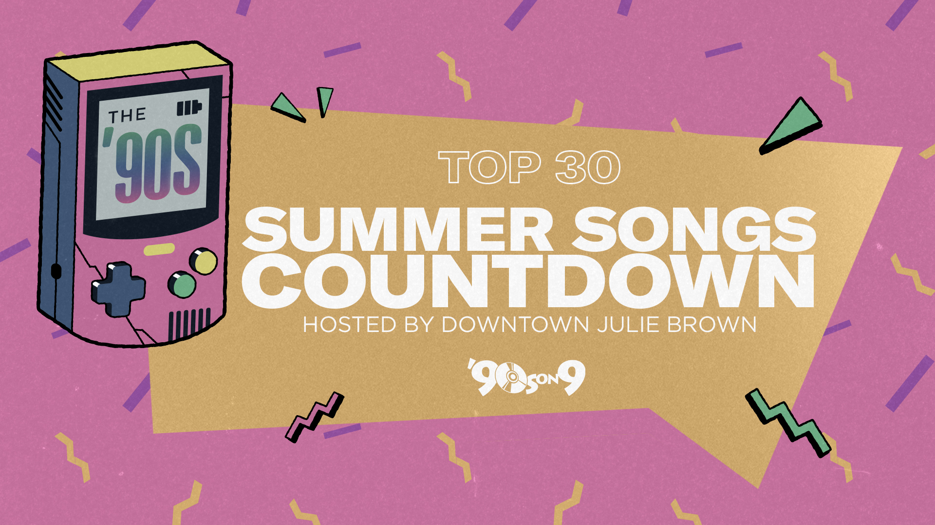 Vote for your favorite '90s summer songs, then hear them counted down