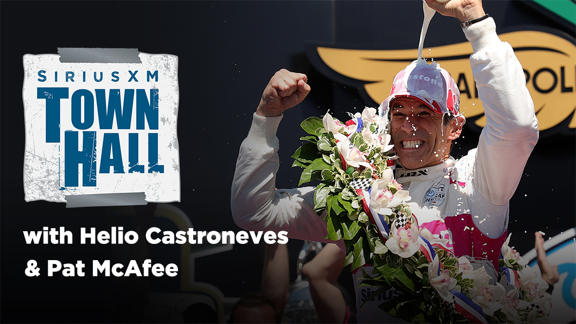 Don't miss Helio Castroneves' exclusive Town Hall hosted by Pat McAfee