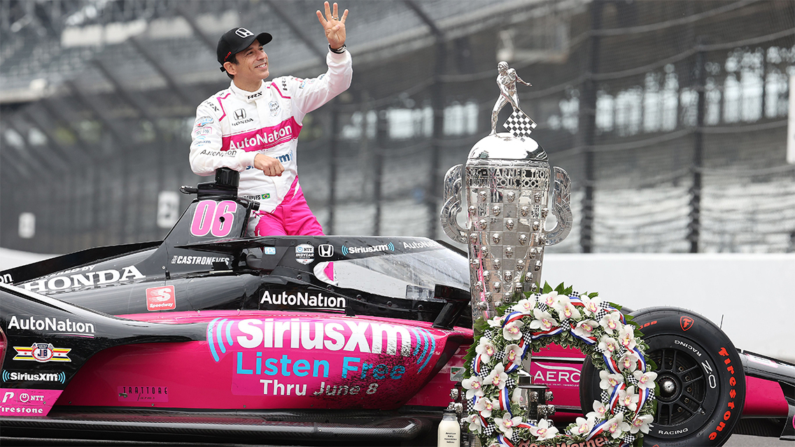 Hear Hélio Castroneves, Jim Meyer & Michael Shank talk Indianapolis 500 win in exclusive interview