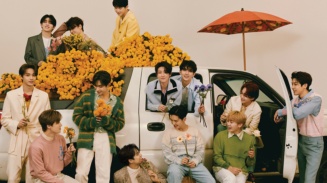 Say hello to SEVENTEEN's music & stories during a 24-hour takeover on 88rising Radio