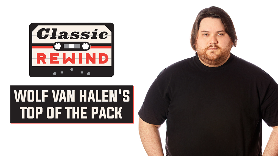 Wolf Van Halen: Classic Rewind's newest host!