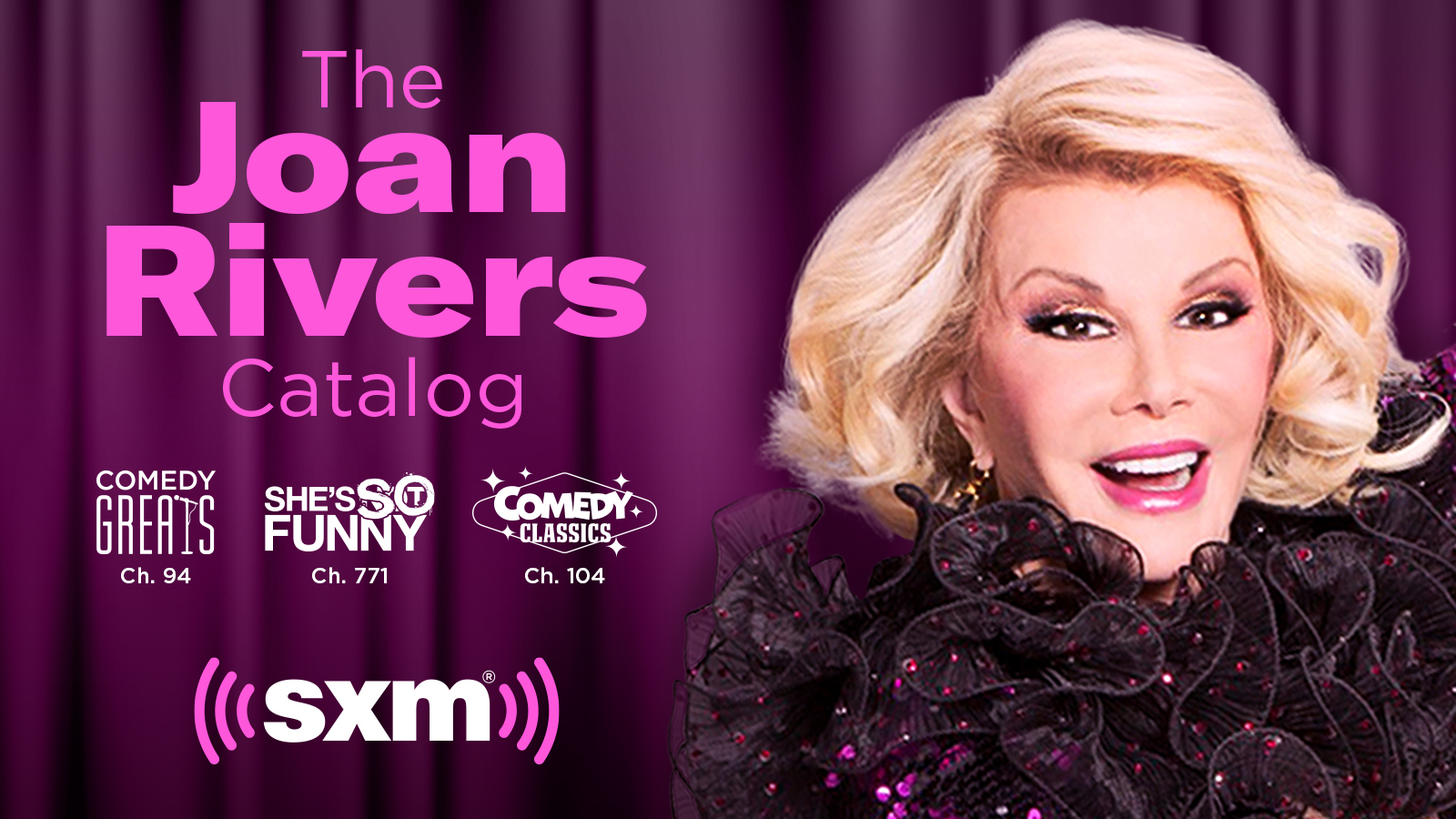 Hear never-before-released Joan Rivers comedy performances from the past 20 years