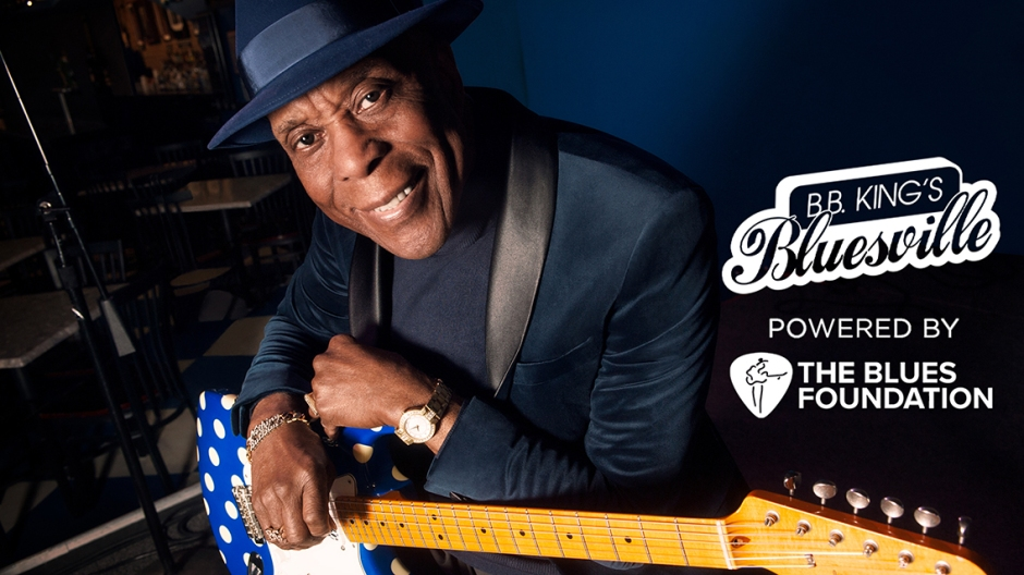 Celebrate Buddy Guy's 85th birthday with exclusive specials on B.B. King's Bluesville