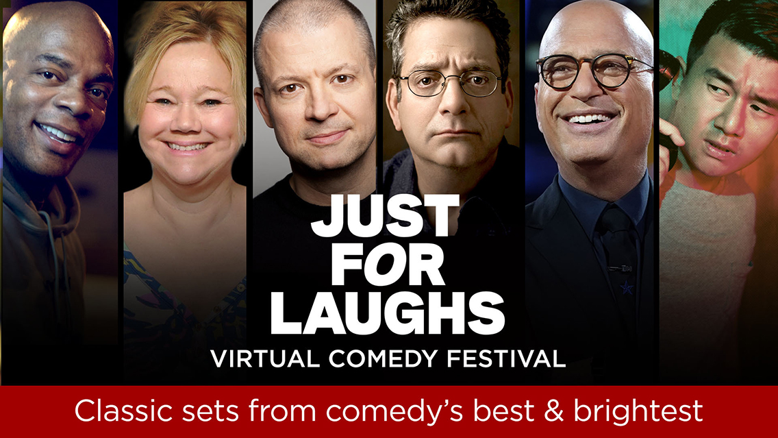 The 'Just For Laughs Virtual Comedy Festival' returns with even more hilarious specials