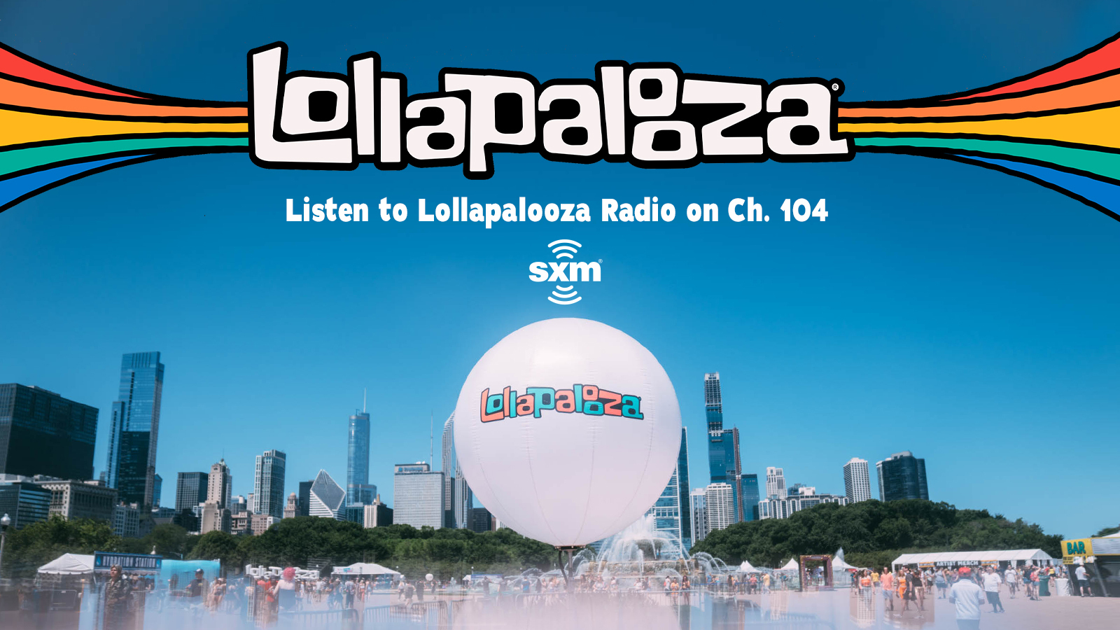 Listen to live sets & interviews from the biggest artists at Lollapalooza 2021
