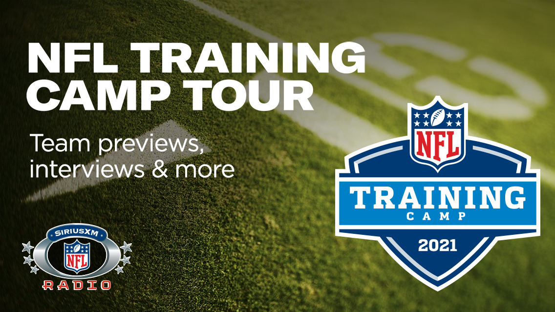 Go behind the scenes of every NFL team's training camp with SiriusXM NFL Radio