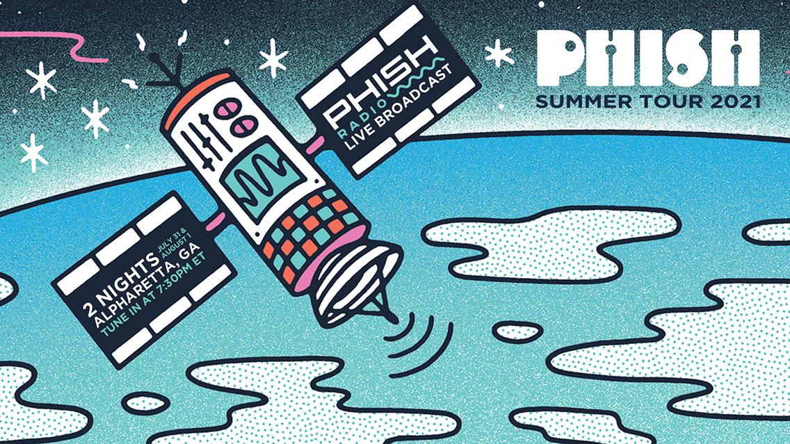 Hear Phish's Summer Tour live on Phish Radio this weekend