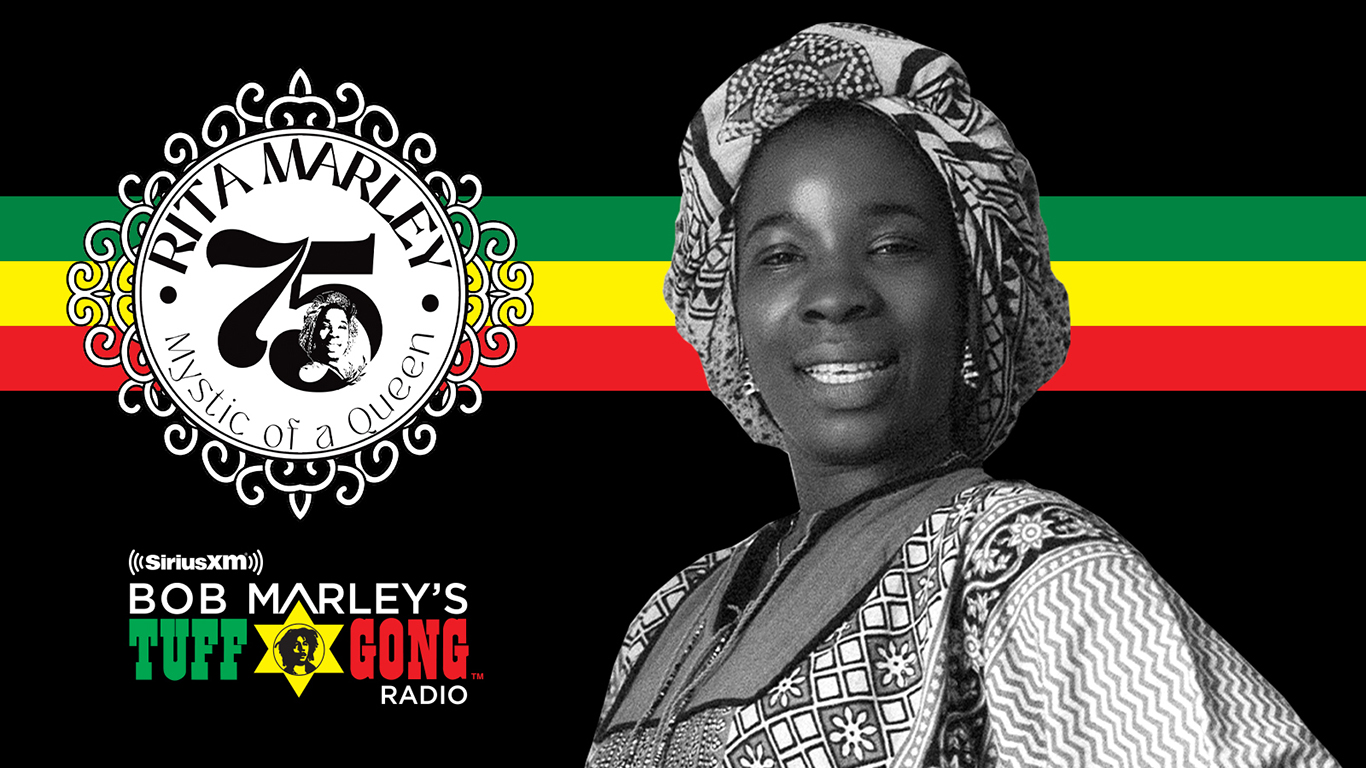 Celebrate reggae icon Rita Marley's 75th birthday with an exclusive tribute special