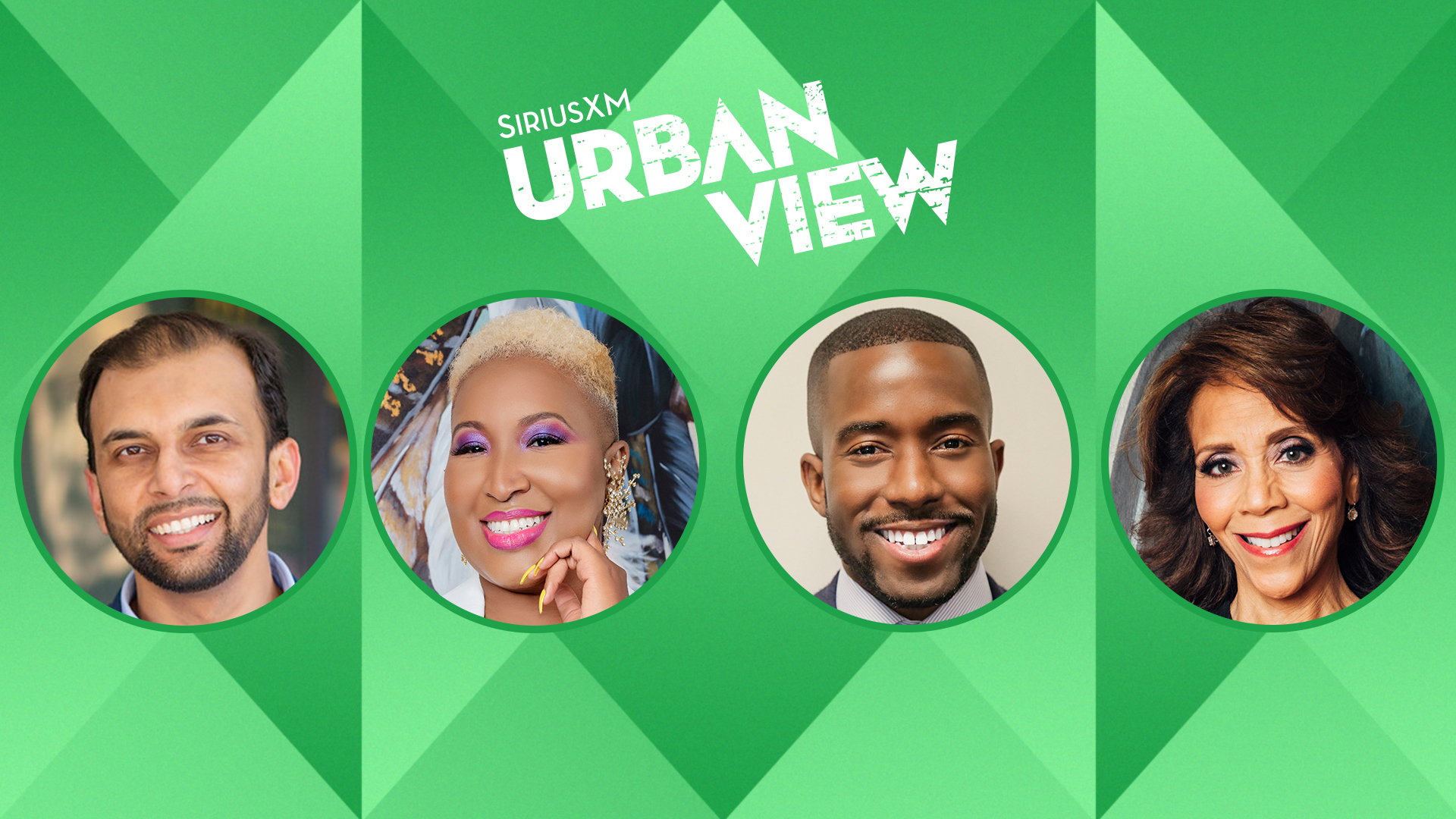 Check out Urban View's all-new weekend shows featuring prominent Black voices
