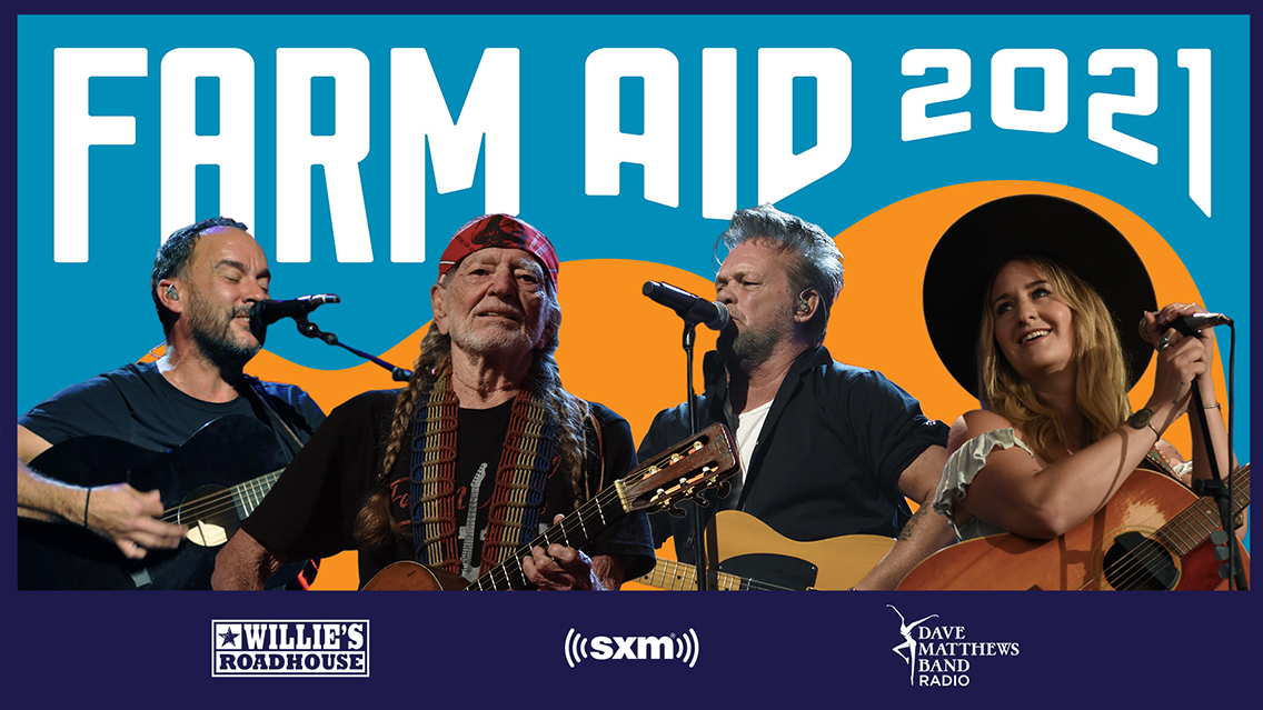 Hear live Farm Aid 2021 sets by Willie Nelson, Dave Matthews & more
