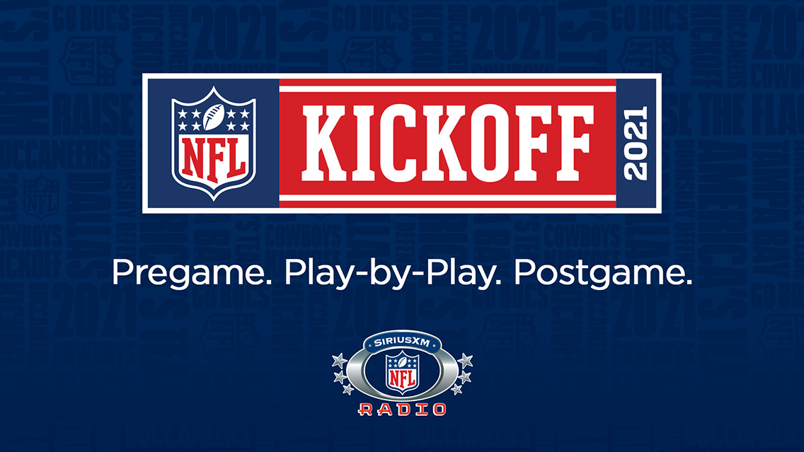 Follow the 2021 NFL season on SXM with live play-by-play action, exclusive shows & more
