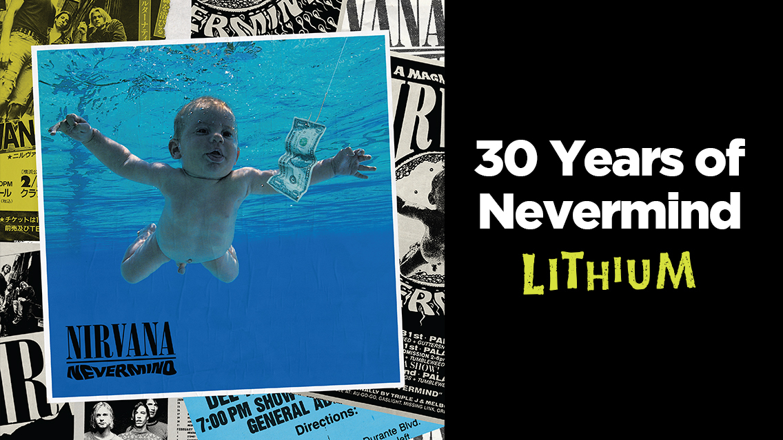 Come as you are to celebrate the anniversary of Nirvana's quintessential grunge album