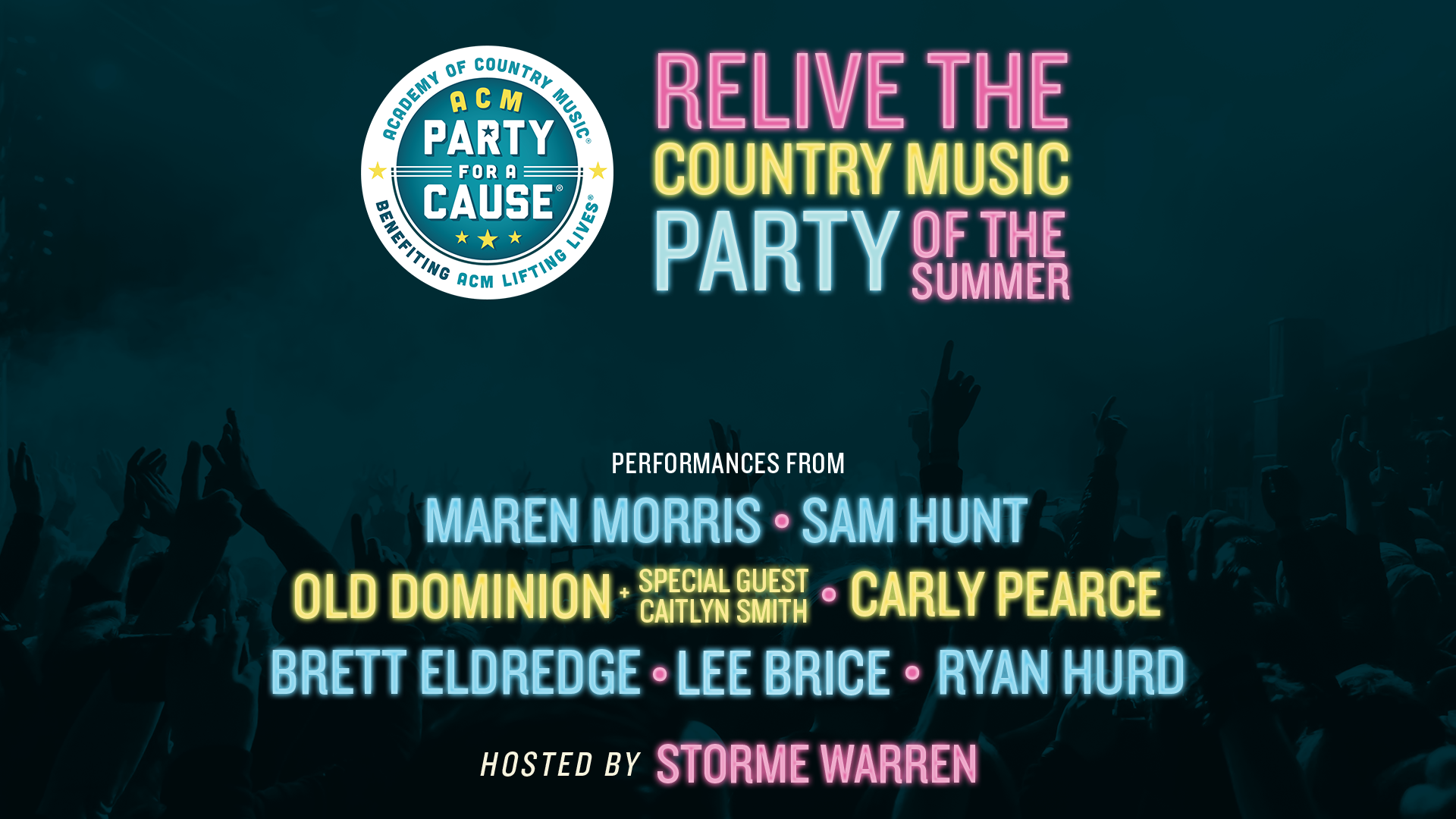 Throw it back to the summer with a special broadcast of ACM Party for a Cause® on The Highway