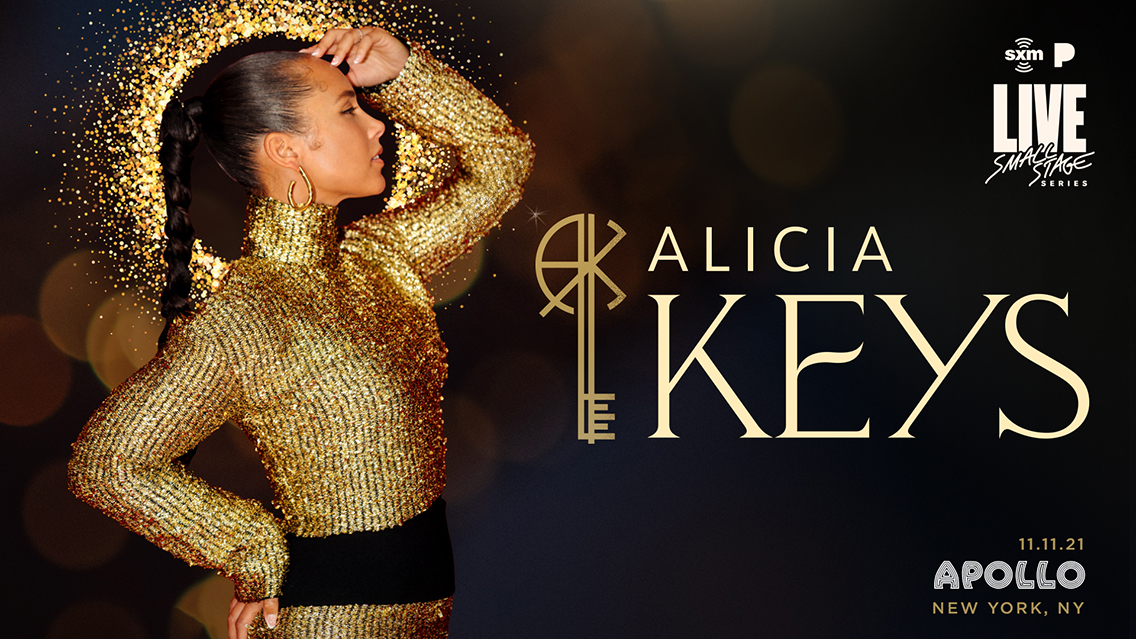 Rise up for an intimate hometown concert with Alicia Keys at the iconic Apollo Theater