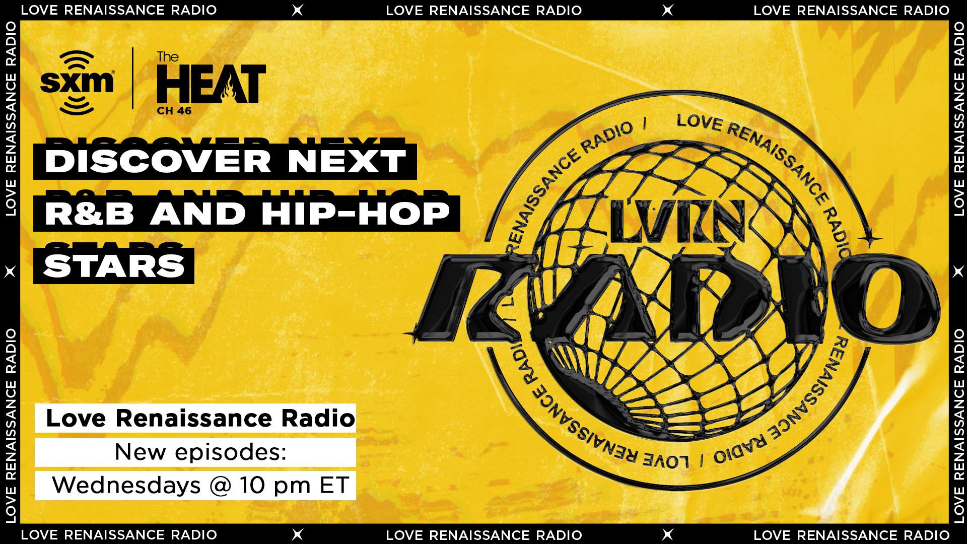 Discover the next R&B and Hip-Hop stars on Love Renaissance Radio