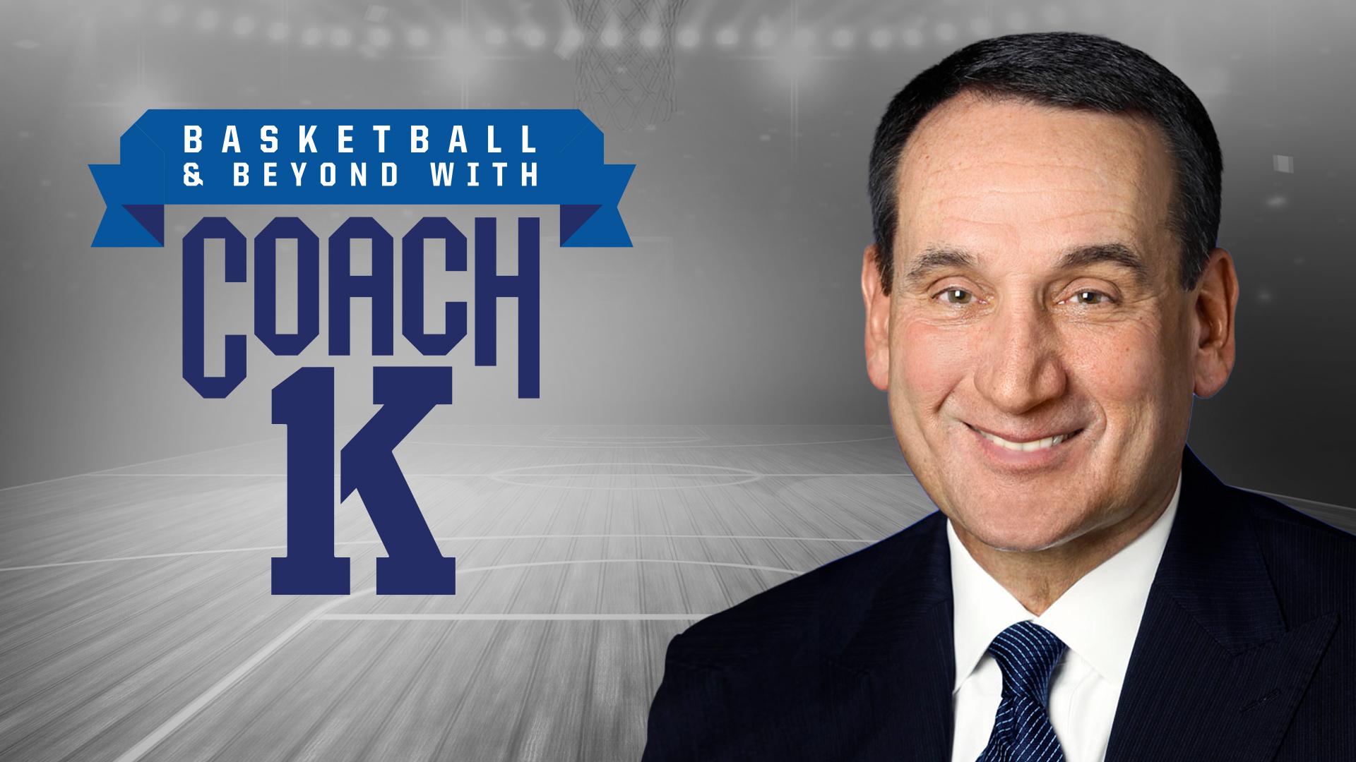 Catch Mike 'Coach K' Krzyzewski on the 17th season of 'Basketball & Beyond'