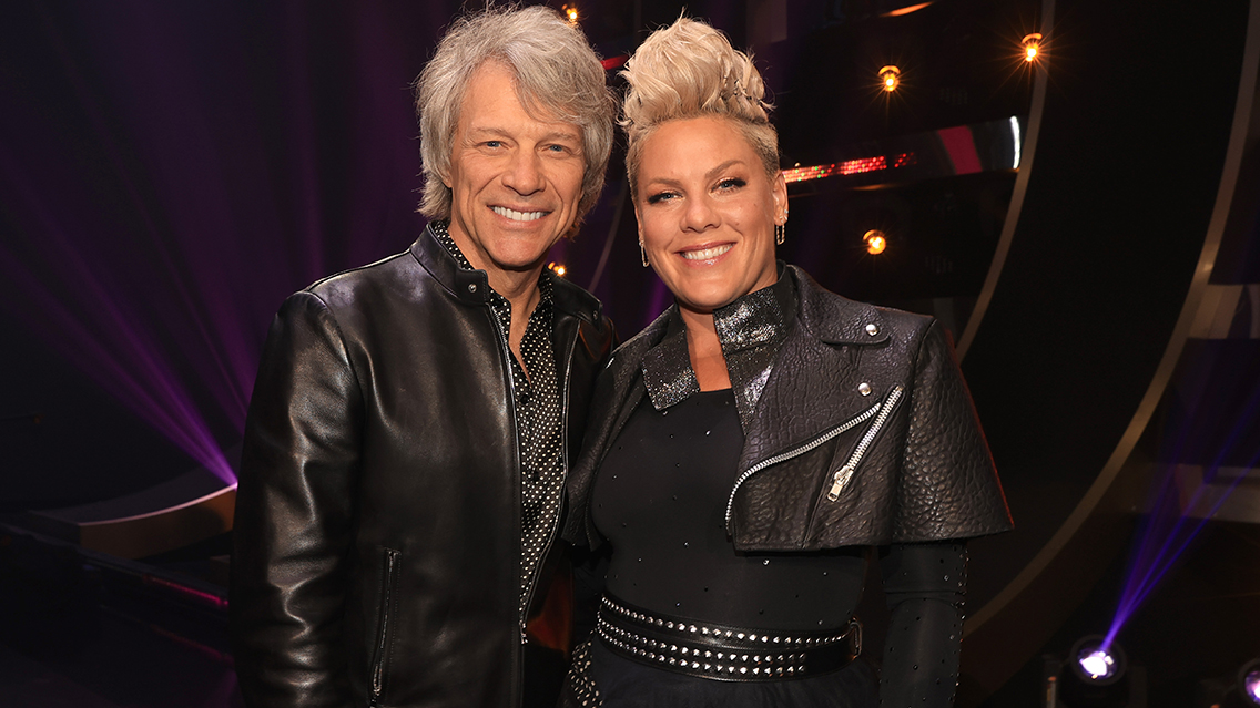 Celebrate 35 years of 'Slippery When Wet' with a roundtable hosted by P!nk, joined by Jon Bon Jovi, band members & more